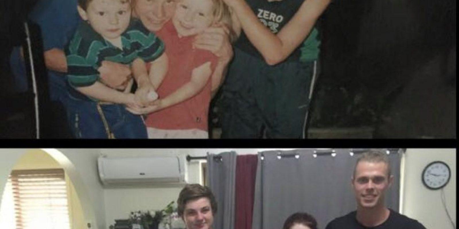 Los primos cuando eran pequeños y en la actualidad. Foto:facebook.com/tommy.connolly.39