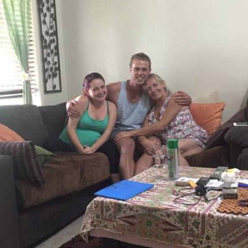 La reunión de familia. Foto:facebook.com/tommy.connolly.39