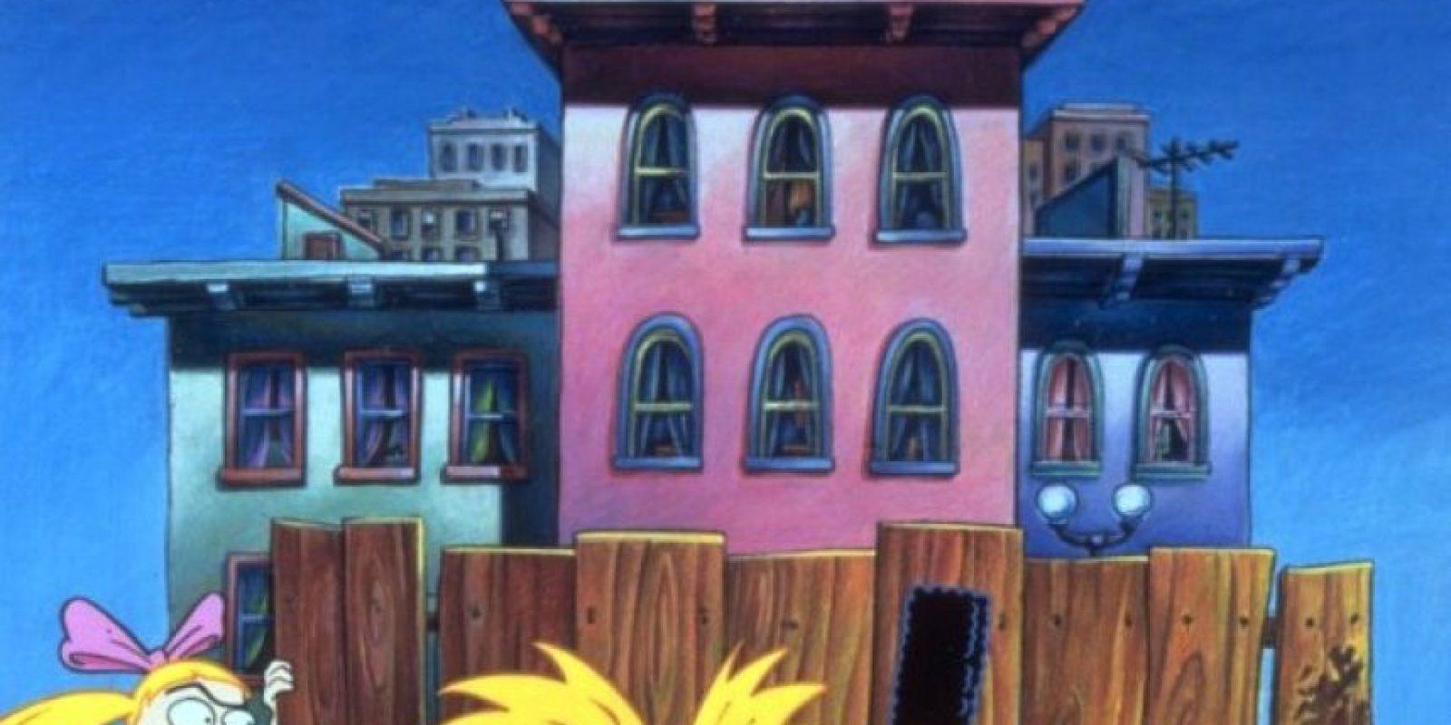 """Se centra en la vida de """"Arnold"""", un niño huérfano de 9 años que vive con sus abuelos y se enfrenta a la vida en los suburbios de Hillwood City, una ciudad ficticia Foto:Vía IMDB/Nickelodeon"""