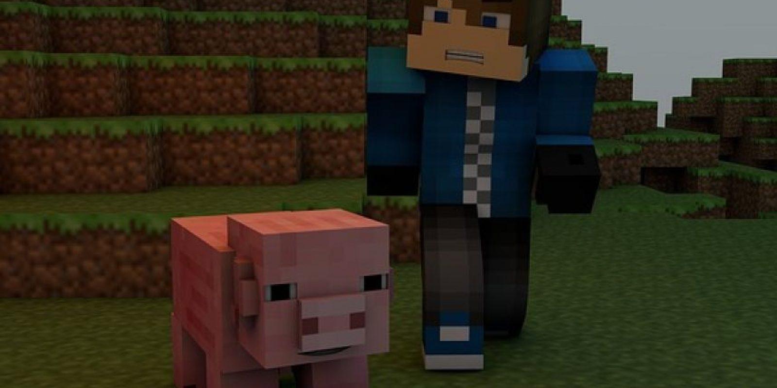 """Minecraft es un videojuego independiente de construcción, de tipo """"mundo abierto"""" Foto:CC0 Public Domain / FAQ"""