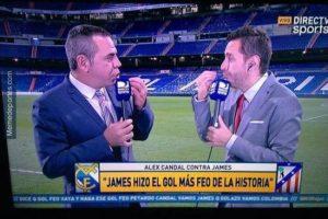 """¿Y ahora qué dirán los """"haters"""" de James Rodríguez tras el golazo que marcó? Foto:memedeportes.com"""