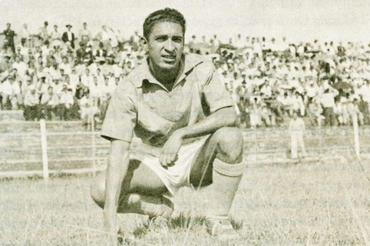 """Jaime Gutiérrez, el primer goleador """"criollo"""" del fútbol colombiano en 1956. Foto:Tomada de cronicadelquindio.com"""