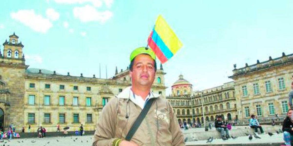 'Radioloco', el 'roba cámaras' colombiano