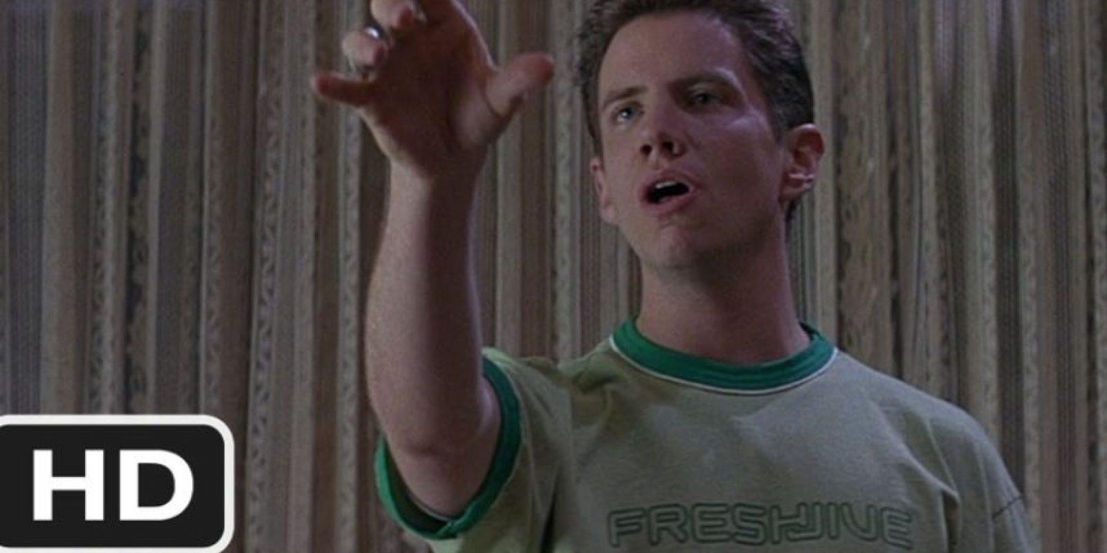 """Jamie Kennedy era """"Randy Meeks"""", aficionado a las películas de terror, quien también sobrevive a """"Ghostface"""". Foto:vía Woods Entertainment"""