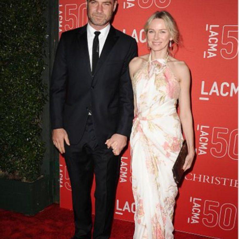 """Liev es uno de los actores más respetados de Hollywood. Protagoniza la serie de HBO """"Ray Donovan"""" y está casado con Naomi Watts. Foto:vía Getty Images"""