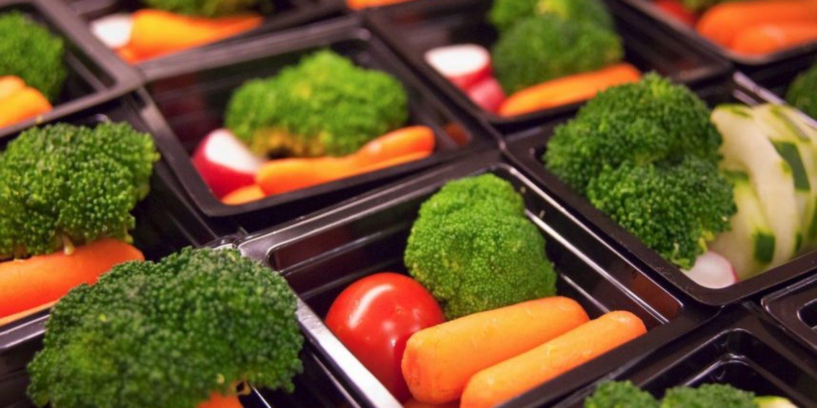 La selección de frutas aumentó en un 20% desde 1 a 1.2 porciones por estudiante por día. Foto:Creative Commons