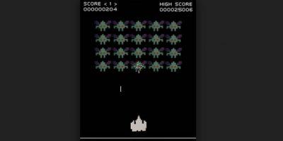 Space Invaders es uno de los videojuegos más importantes de la historia. Su objetivo es eliminar oleadas de alienígenas con un cañón láser y obtener la mayor cantidad de puntos posible Foto:Wikicommons