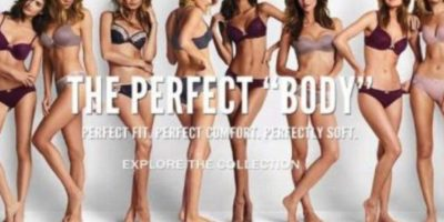 """The Perfect Body"" de Victoria´s Secret, causó ira en todo el mundo. Foto:vía Twitter"