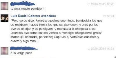 Al final, Luis termina trolléandolo de manera épica. Foto:vía Facebook/Luis Daniel Avendaño