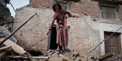 10. Se estima que 8 millones de personas se han visto afectadas por el terremoto, que es casi el 30% de toda la población. Foto:AFP