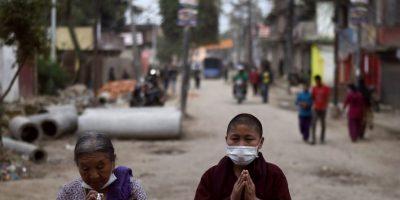 1. Una de cada cuatro personas en Nepal vive por debajo del umbral nacional de pobreza – que es sólo 50 centavos de dólar por día – así que muchos luchan constantemente por alimentar a sus familias. Foto:AFP