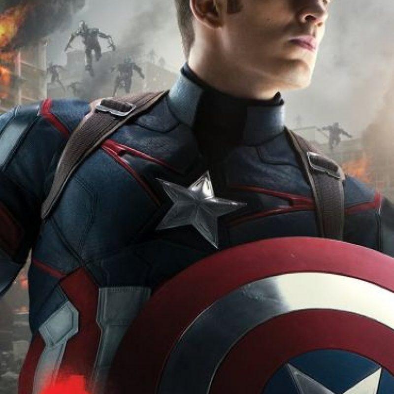 """Desde 2011 hasta la fecha, Chris Evans se presentó como el """"Capitán América"""" en cuatro diferentes películas Foto: Vía Facebook.com/avengers"""