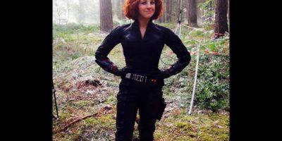 """La británica Casey Michaels colaboró con Johansson en """"Avengers: Age of Ultron"""". Foto:Vía instagram.com/caseystunts"""