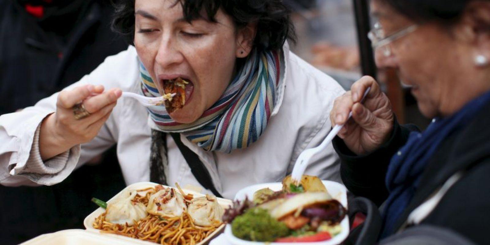 2. Tienen comida en cualquier lugar y todo el tiempo. Foto:Getty Images