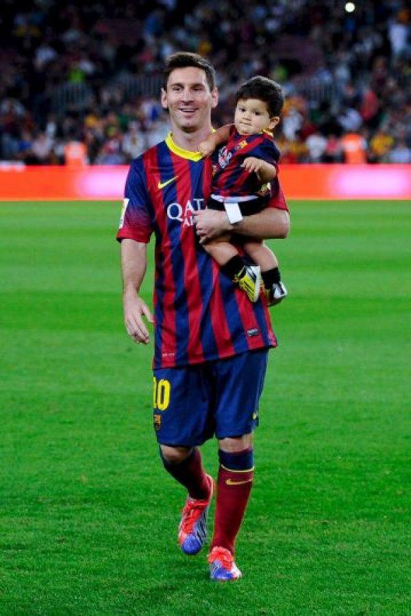 Lionel Messi tiene una relación formal con Antonella Rocuzzo desde 2009. Foto:Getty Images