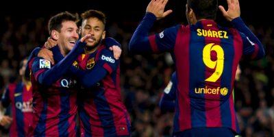Esta impresionante cifra la forman gracias a 49 tantos de Lionel Messi, 32 de Neymar y 21 de Luis Suárez. Foto:Getty Images
