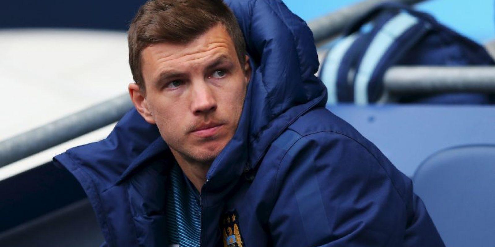 El bosnio, delantero del Manchester City tiene 6 goles. Foto:Getty Images