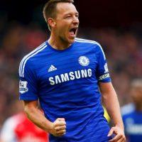 John Terry, defensa del Chelsea, tiene siete goles a lo largo de la temporada y es ya el zaguero con más anotaciones en la historia de la liga inglesa. Foto:Getty Images
