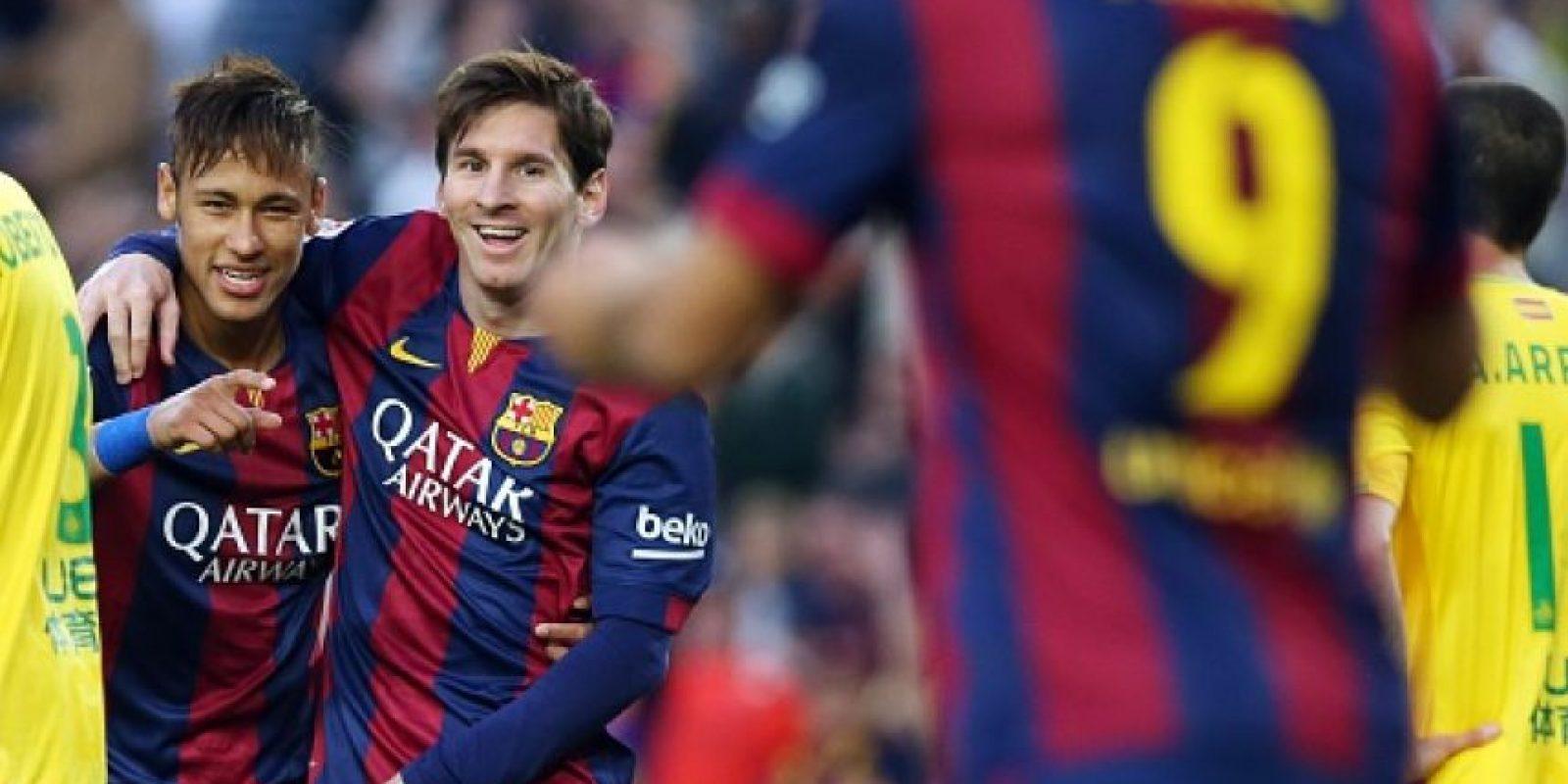 Juntos ya tienen 102 goles marcados en toda la temporada. Foto:Getty Images
