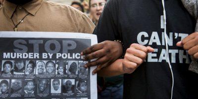 Tras el entierro de Gray el pasado lunes, las protestas pacíficas desembocaron en una oleada de violencia. Foto:Getty Images