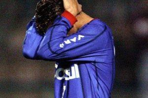 En octubre de 2004, el defensa brasileño Serginho, de 30 años, cayó desmayado durante un partido entre el Sao Caetano y el Sao Paulo. Foto:Getty Images