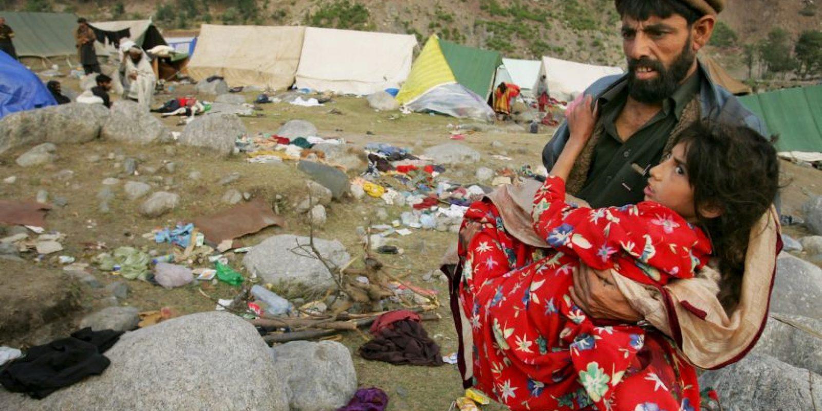 2. Pakistán, 2005. Magnitud 7.8. Murieron más de 86 mil personas. Foto:Getty Images