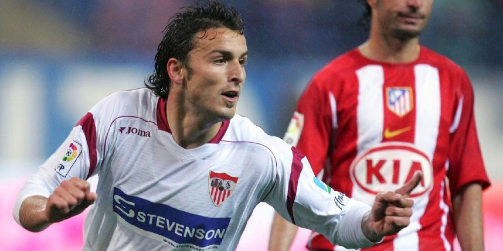 En 2007, Sevilla enfrentó al Getafe en partido de la Liga de España. Foto:Getty Images