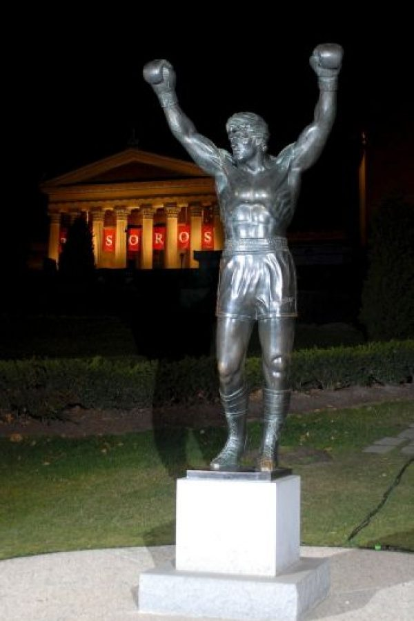 "¡26 esculturas originales de ""Rocky Balboa""! Foto:Getty Images"