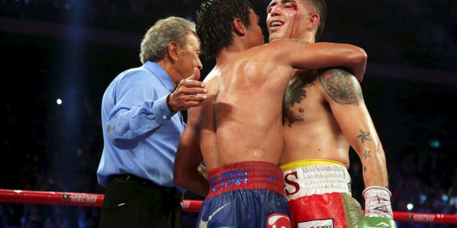 El estadounidense perdió por decisión unánime Foto:Getty Images