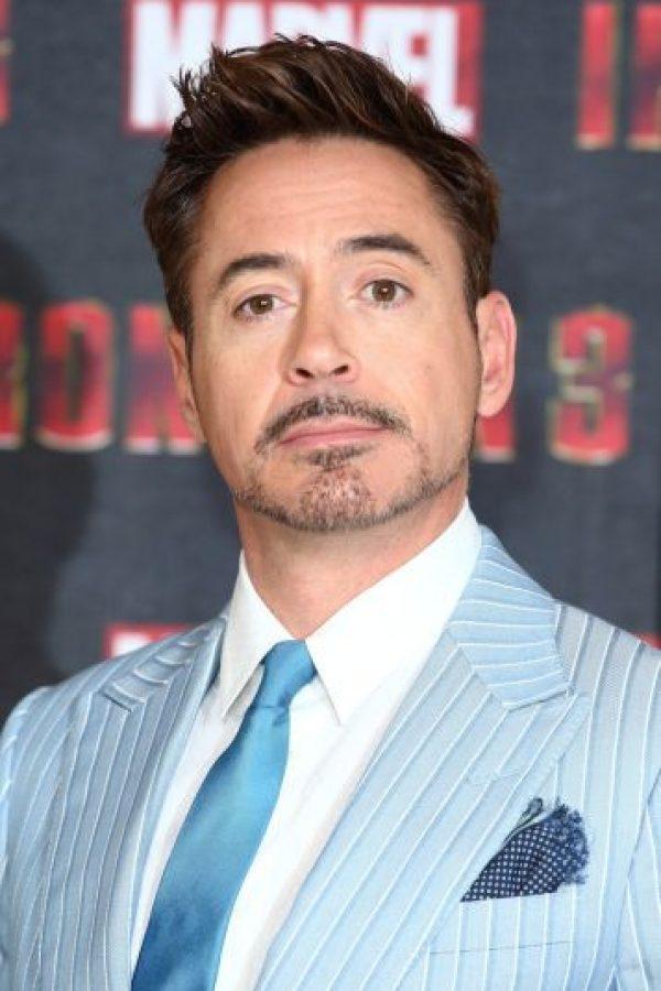 """Y a Robert Downey Jr. en el papel del excéntrico millonario e ingeniero """"Tony Stark"""". Foto:Getty Images"""