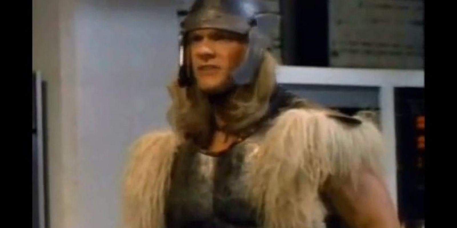 "En 1988, el personaje de ""Thor"" apareció en la serie ""The Incredible Hulk Returns"" Foto:YouTube"