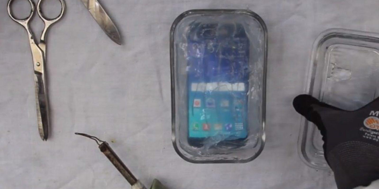 Así se ve el Samsung Galaxy S6 a prueba de agua. Foto: PeripateticPandas