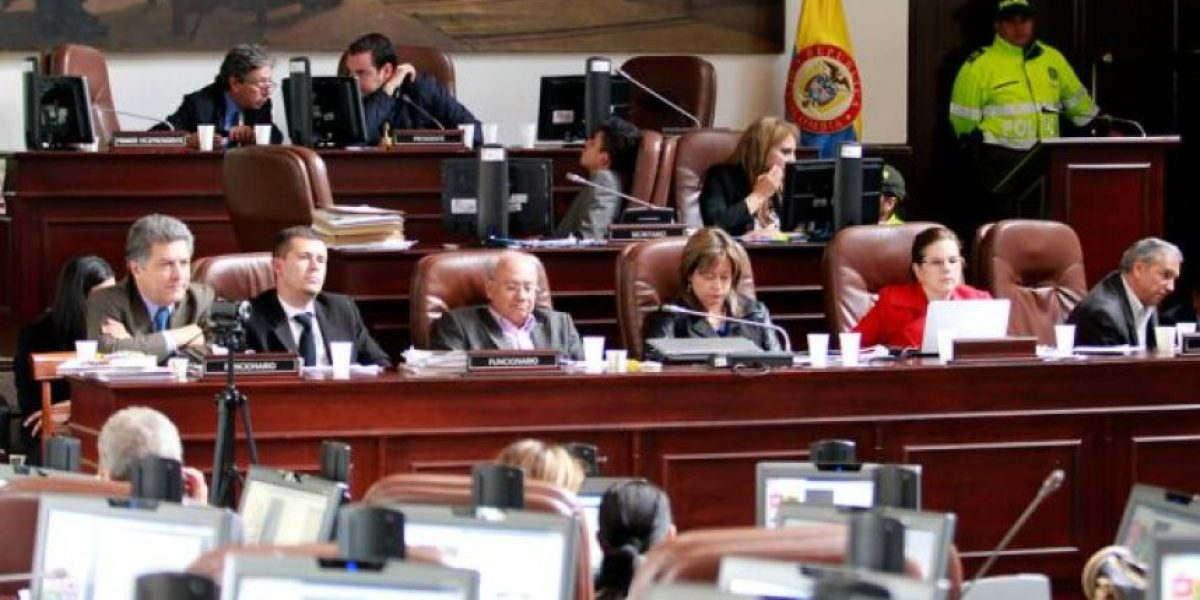 Informe rajó a los concejales de Bogotá