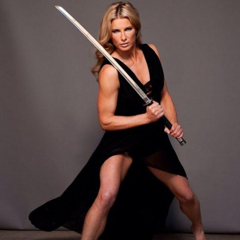 """Heidi Honeymoon es la doble principal de Scarlett, participó también en """"Iron Man 2"""" y """"The Avengers"""". Foto:Vía instagram.com/heidimoneymaker"""