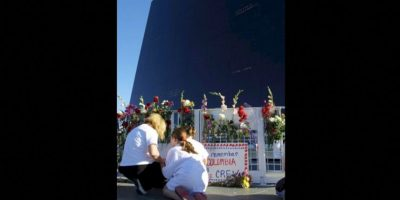 Memoriales en el Centro Espacial Kennedy Foto: Getty Images