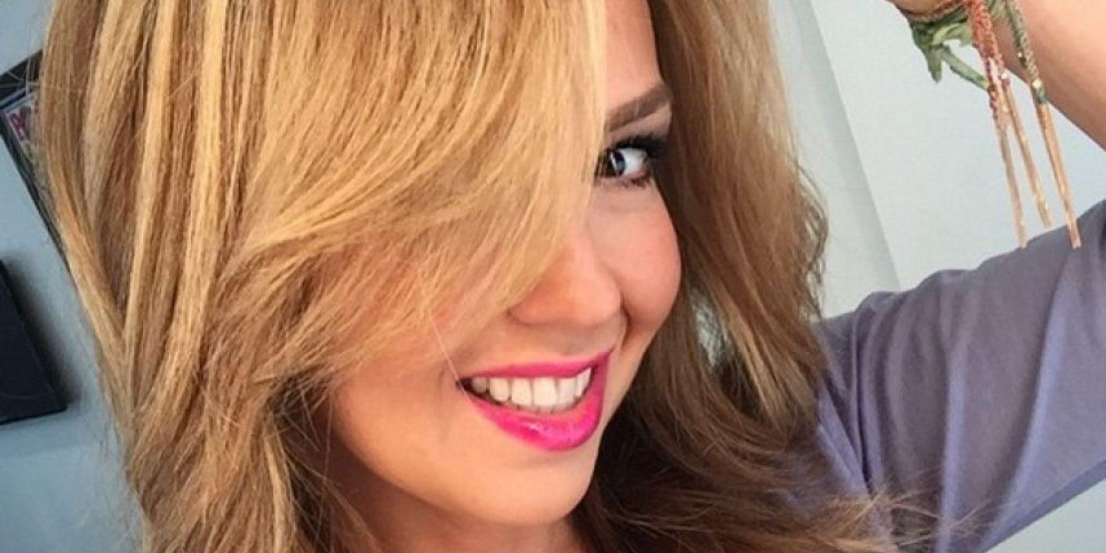 """Thalía está lista para ver la """"Pelea del siglo"""" junto a su hijo Foto:Instagram/Thalia"""