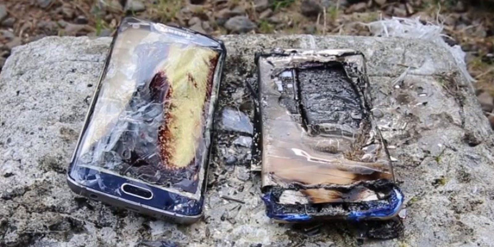 La destrucción del fuego es total. Foto:EverythingApplePro