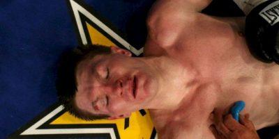 De esta manera, Hatton finalizó la pelea en diciembre de 2007 Foto:Getty Images