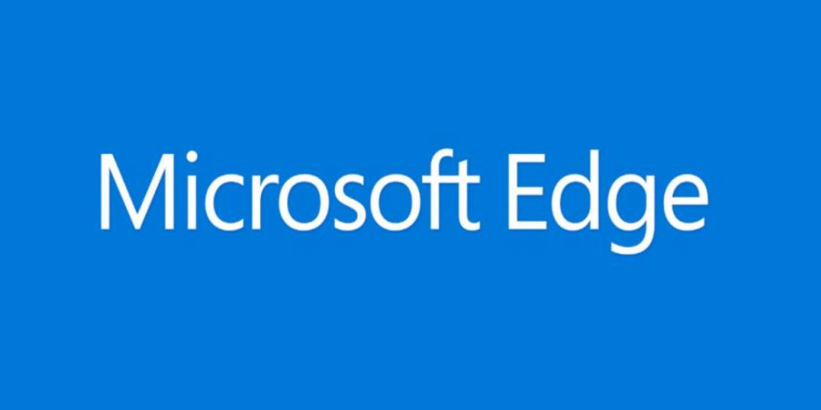 Windows presentó su nuevo navegador Edge con un video promocional Foto: Microsoft Windows