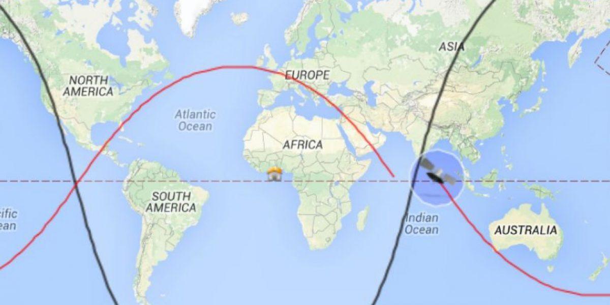 Conozca dónde y cuándo caerá una sonda espacial en la Tierra