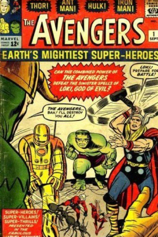 Los Vengadores han tenido 14 alineaciones, sin contar las de los universos alternos. Por supuesto, nacieron como contrapeso a la Liga de la Justicia de DC Cómics. Su debut fue en 1964. Foto:vía Marvel