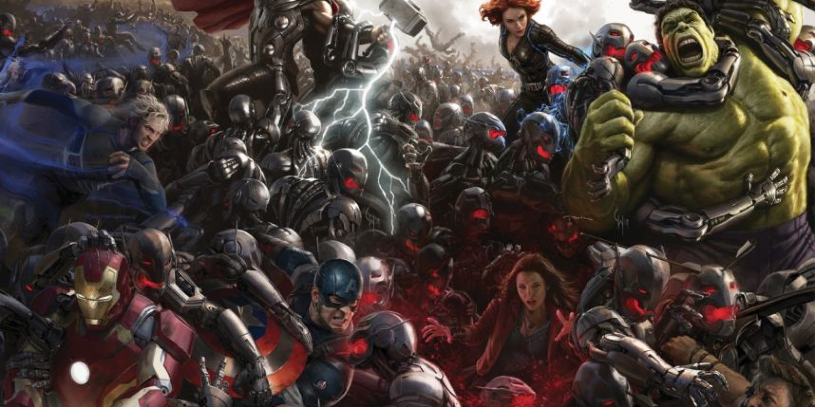"""Ultrón ha creado a sus propios reclutas, que han tenido relación con """"Los Vengadores"""". Entre ellos el androide Visión y a Yocasta, su pareja. Los dos se unen a Los Vengadores. Foto:vía Marvel"""