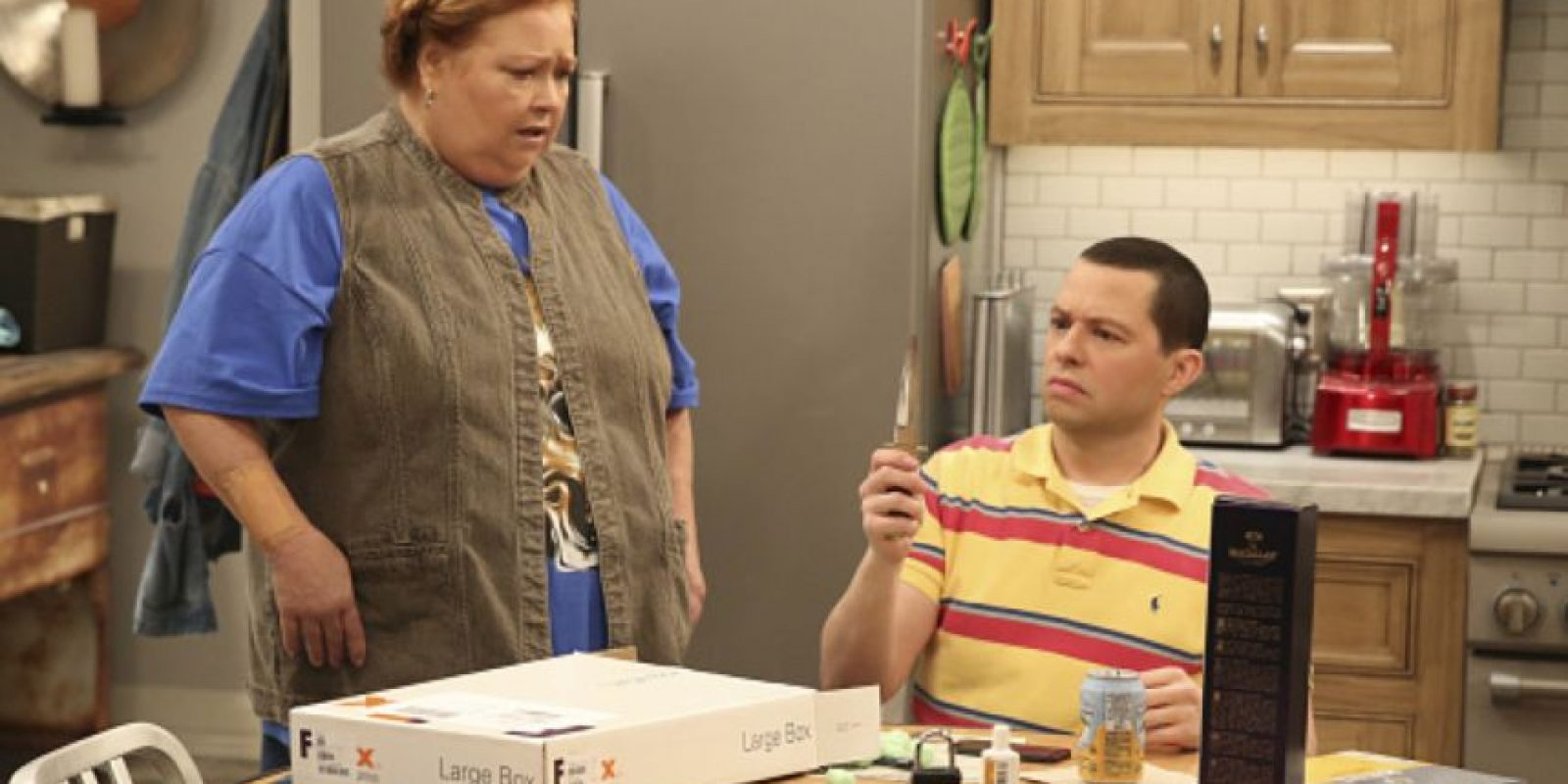 "Conchata es famosa por su papel como ""Berta"" en ""Two and a Half Men"". Foto: vía Getty Images"