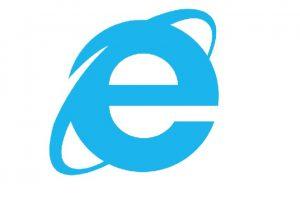 Y este es el diseño del ahora extinto Internet Explorer Foto:Microsoft Windows