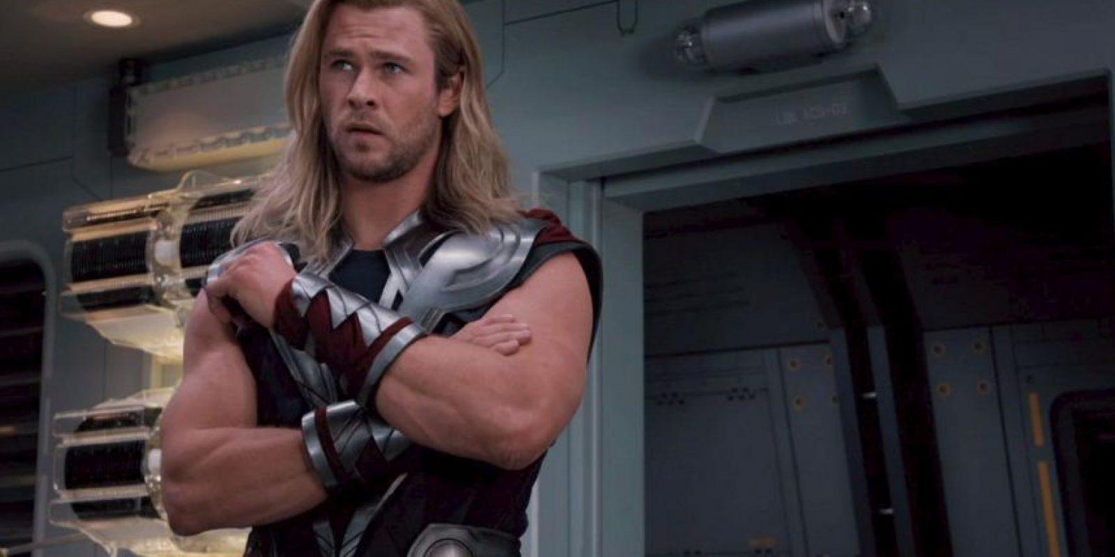 Para Thor se necesita un hombre grande, musculoso y rudo. Foto:vía Marvel