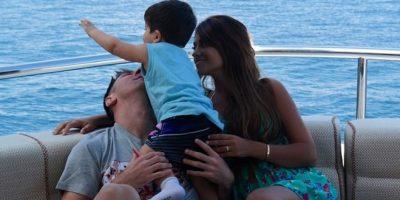 """En 2004, un Messi de 17 años volvió a Rosario y de """"casualidad"""" se topó con Antonella que ese dia no fue a clases. Su relación renació a partir de ese momento. Foto:Vía instagram.com/antorocuzzo88"""