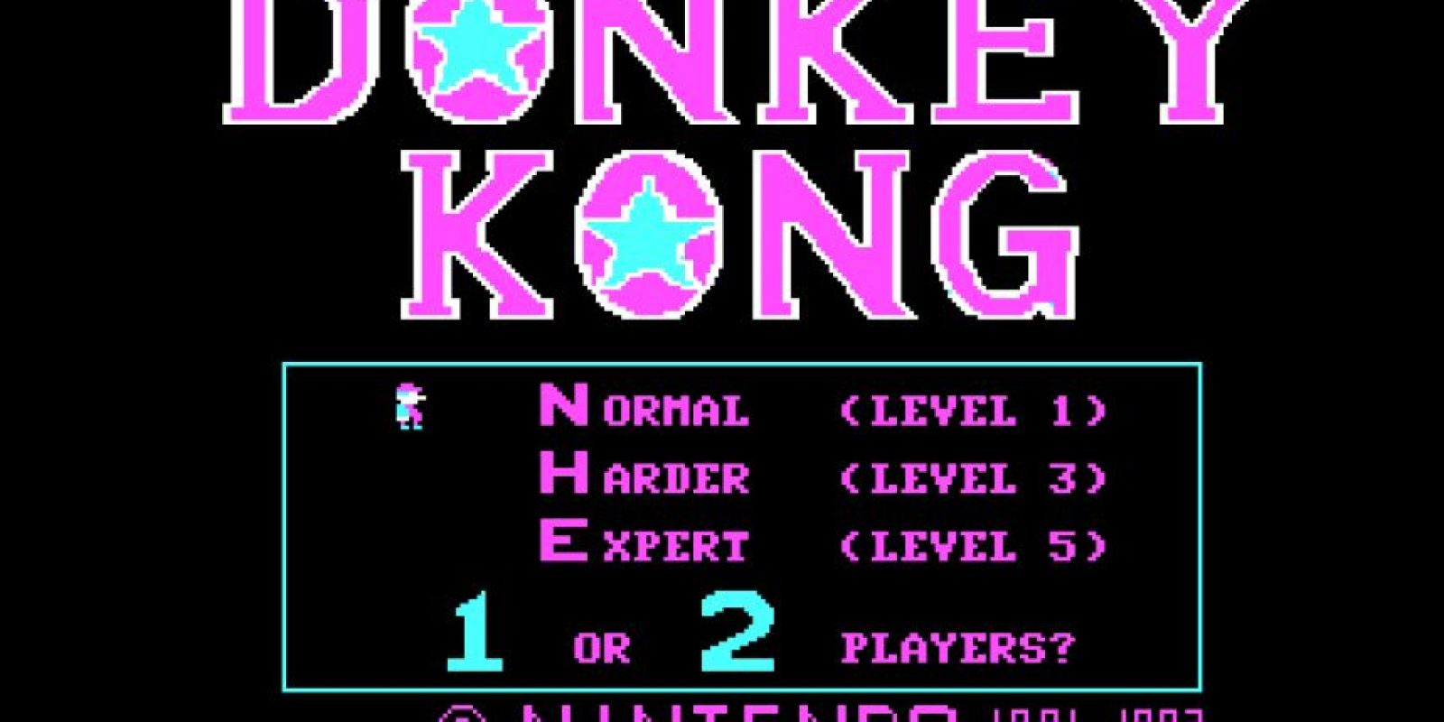 Donkey Kong Foto:Ikegami Tsushinki Co., Ltd., Nintendo Co., Ltd.