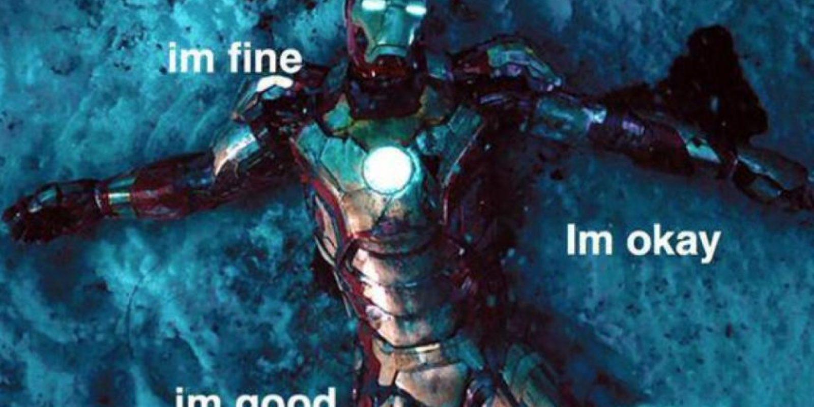 """""""Tony"""" está bien. Foto:vía Facebook/Robert Downey Jr."""