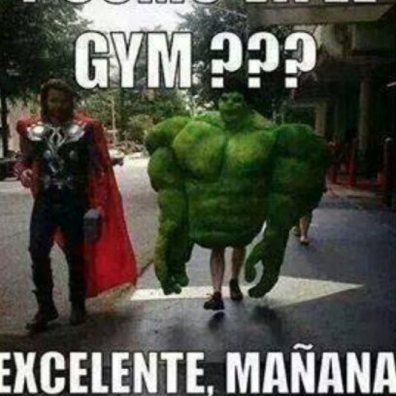 """A """"Hulk"""" le falta trabajar """"algo"""" de su cuerpo. Foto:vía QuickMeme"""