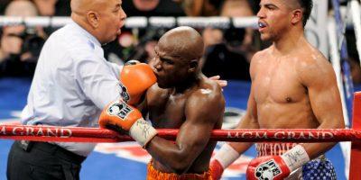 """En los inicios de su carrera fue rankeado en el """"Top 3"""" del boxeo por medios como la revista """"The Ring"""", BoxRec.com y ESPN. Foto:Getty Images"""